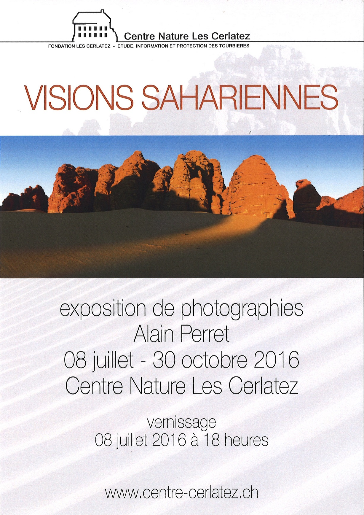 Expo Alain Perret_Visions sahariennes