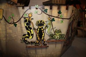 Dame Salamandre et Sire Crapaud